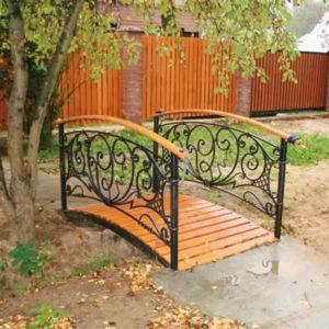 Кованые мосты Кованый мостик для сада Арт. МО-003 Norkovka