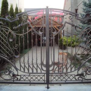 Кованые ворота Кованые ворота Вальтер Арт. В-004 Norkovka
