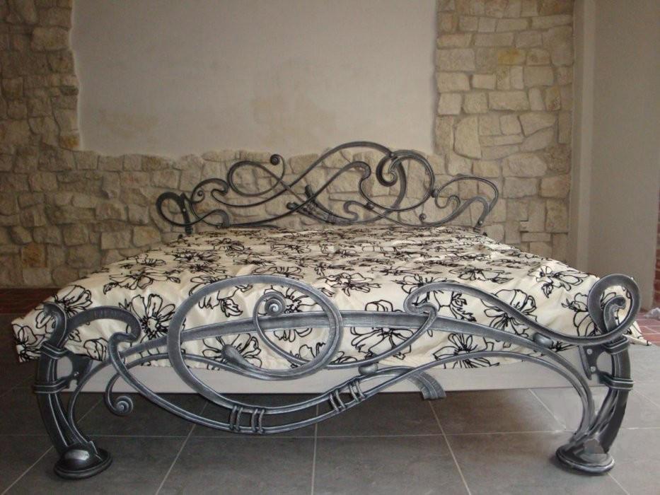 Кованая мебель Элитная кованая кровать Арт. М-011 Norkovka