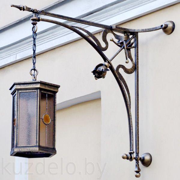Кованые люстры, светильники Уличный кованый светильник Арт. С-006 Norkovka