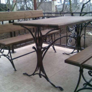 Кованая мебель Кованая мебель для сада Арт. М-004 Norkovka